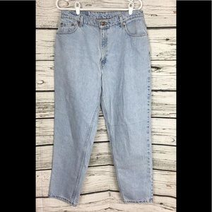 Levi's Jeans - Vintage Levis 550 High Waist Tapered MOM Jeans USA